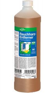 1 Liter Flasche mit Rauchharz-Entferner