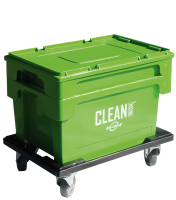 Clean Box with lid, immersion basket, brakes