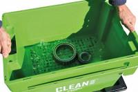 Bauteil in Clean Box