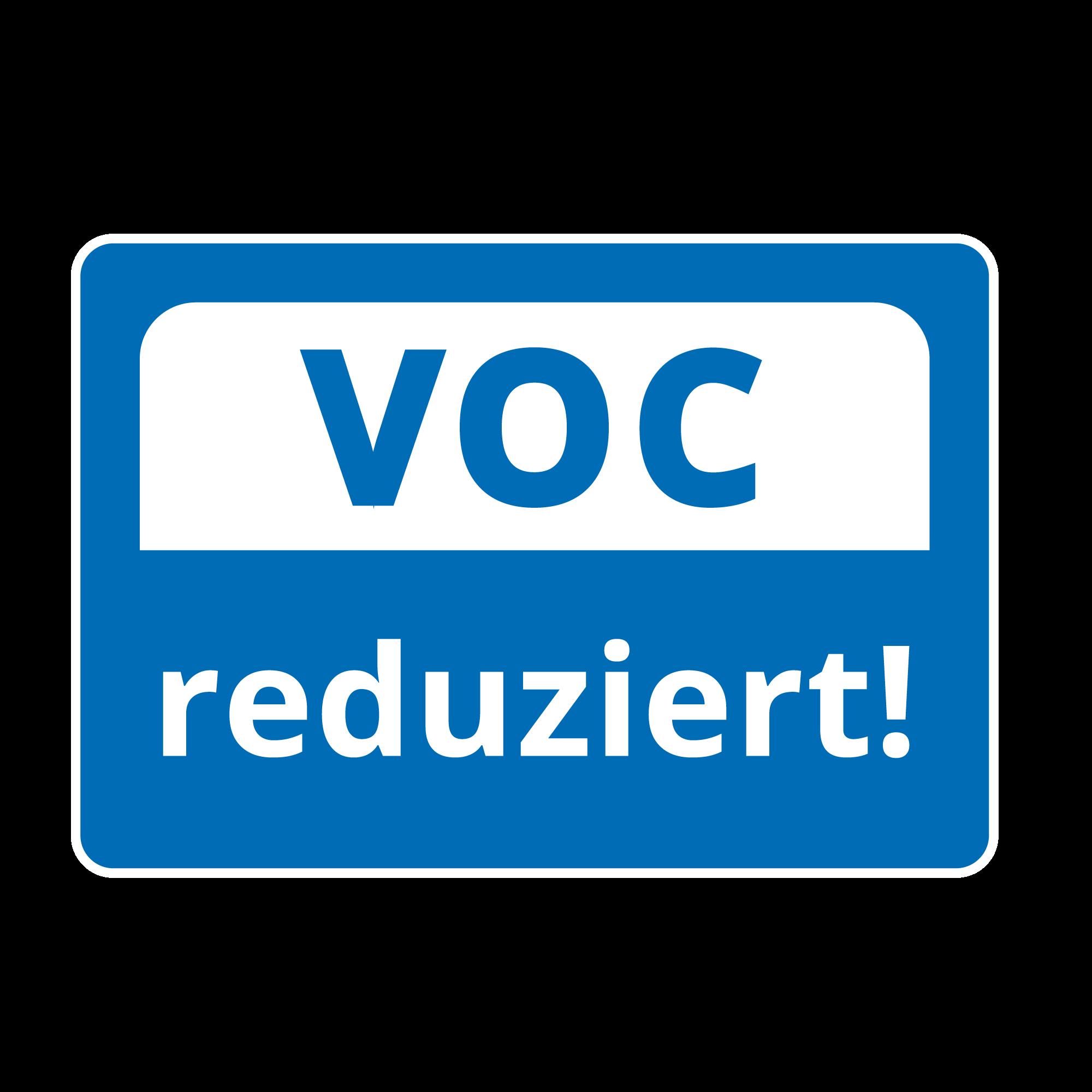 VOC reduced!