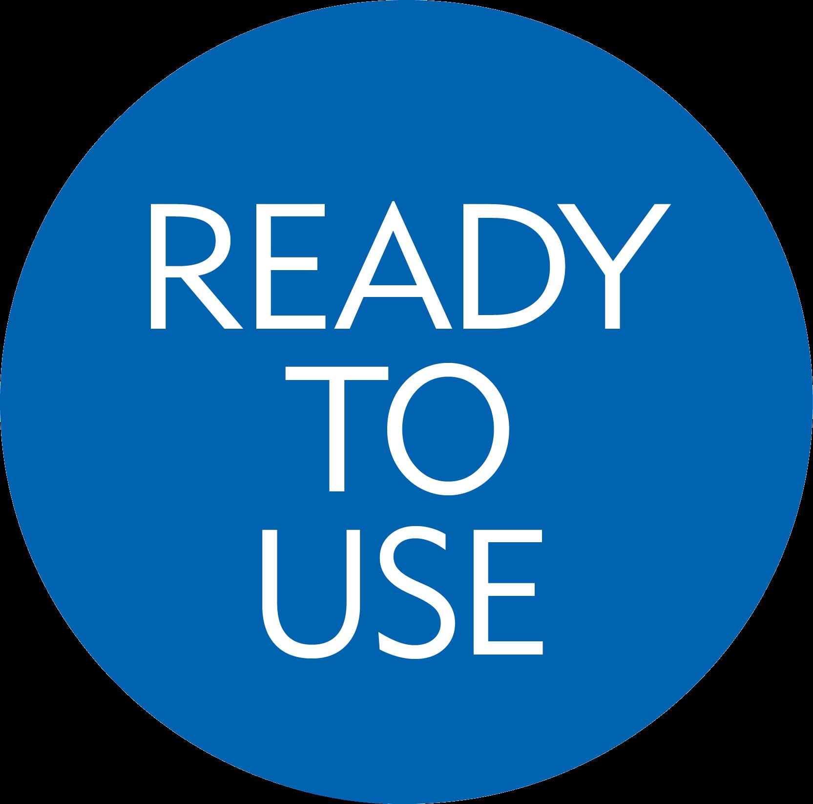 ready to use