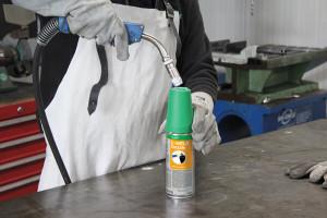 E-WELD Nozzle in der Anwendung mit Task Pro Auftragssystem